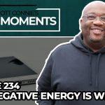 Why Negative Energy is Weak